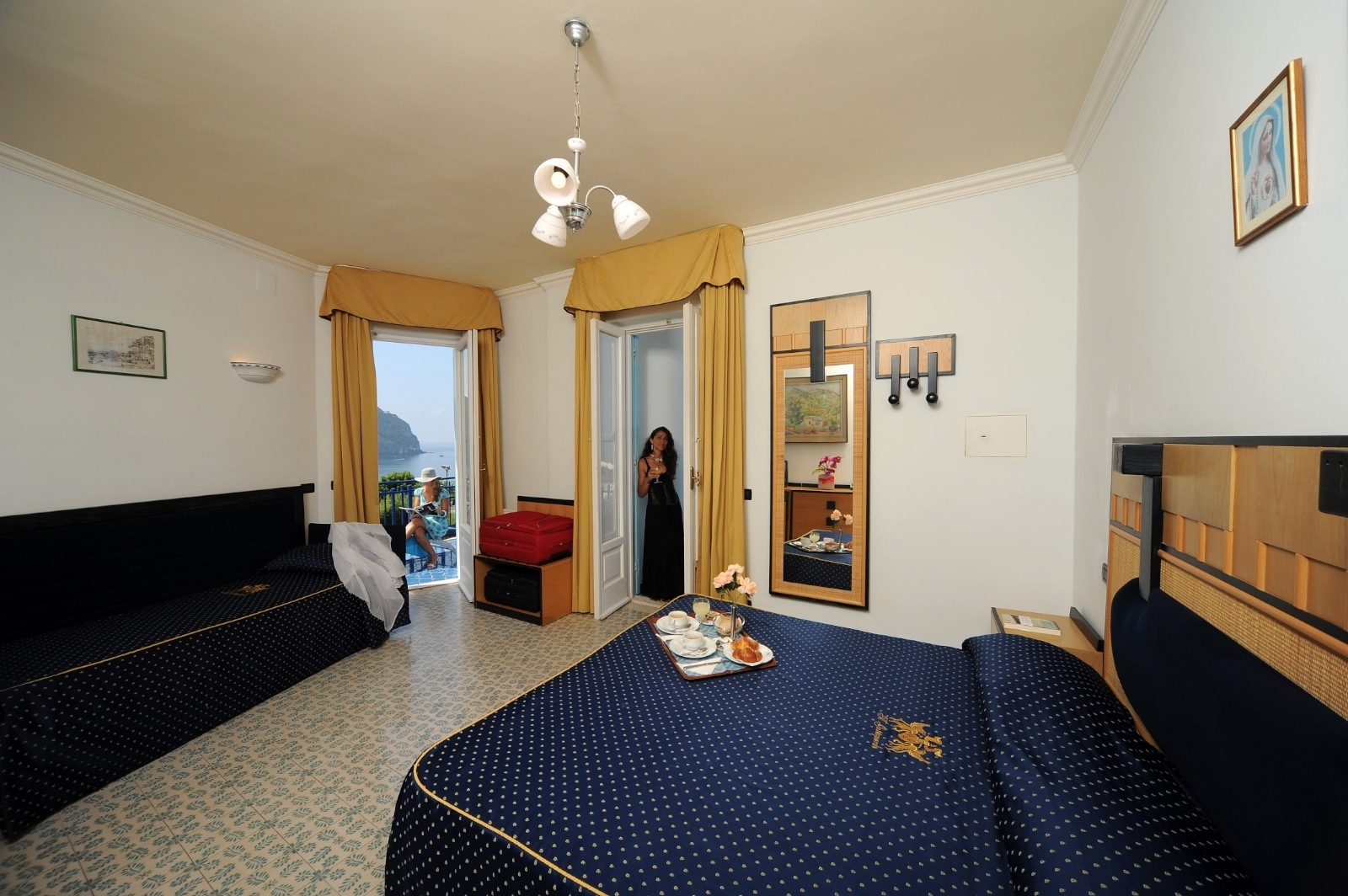 Camera Con Letto A Castello Residence Erika Pictures to pin on ...